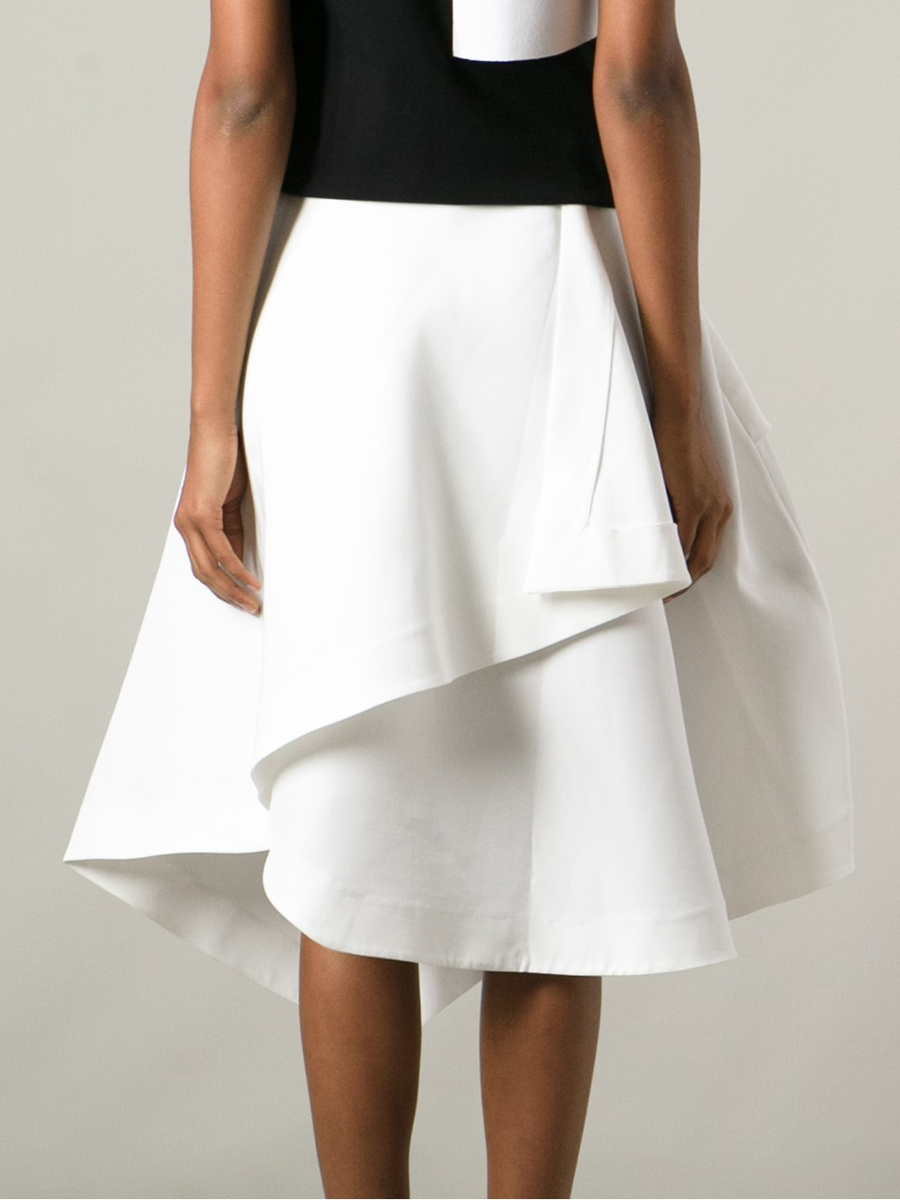Lyst Jwderson Origami Skirt In White