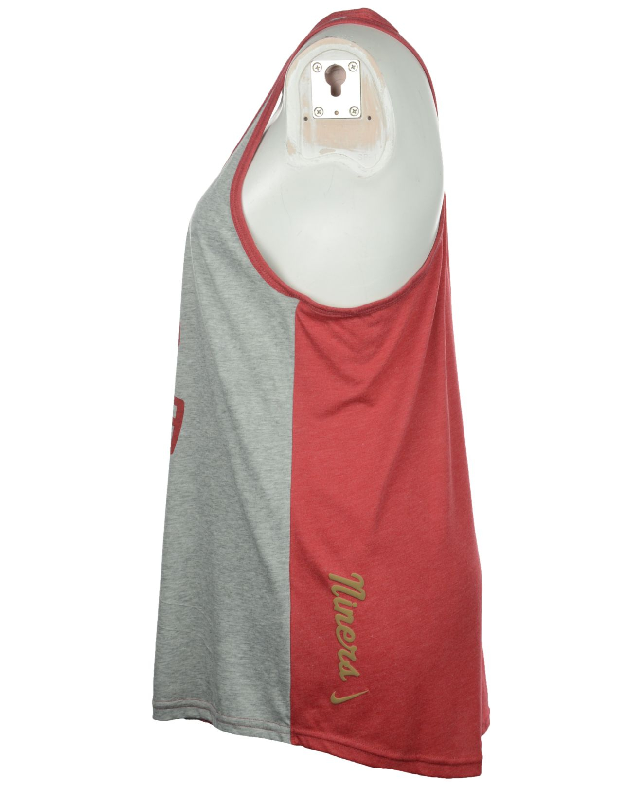 Lyst - Nike Women s San Francisco 49ers Helmet Tank Top in Gray bec349f1c