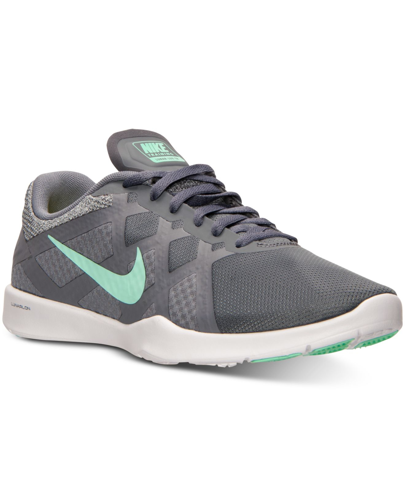 Tiffany Blue And Grey Nike Shoes