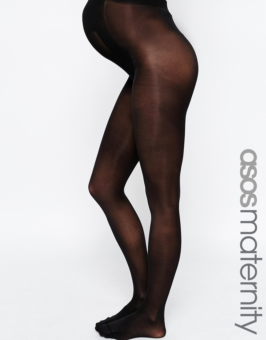 Asos Maternity New Improved Fit 3 Pack 50 Denier Tights