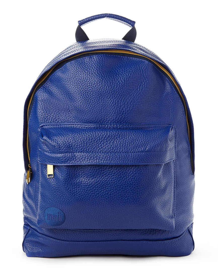 Lyst Mi Pac Gold Tumbled Backpack Blue In Blue For Men
