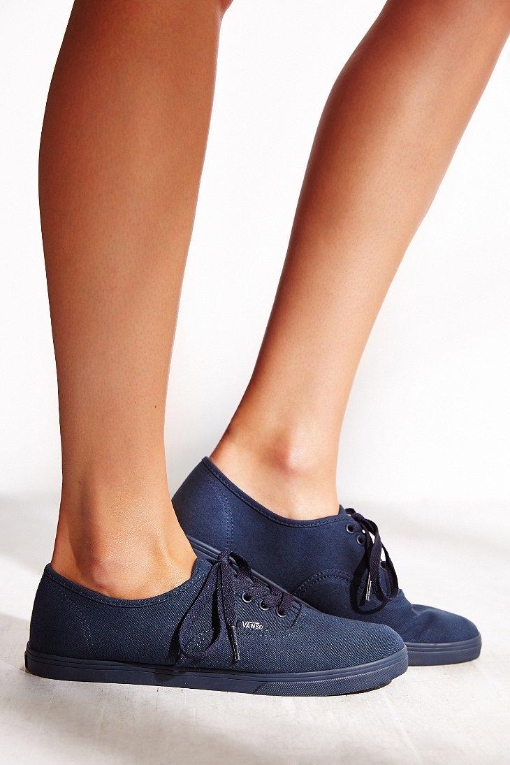 Lyst - Vans Authentic Lo Pro Monotone Sneaker in Blue a31b8e9134