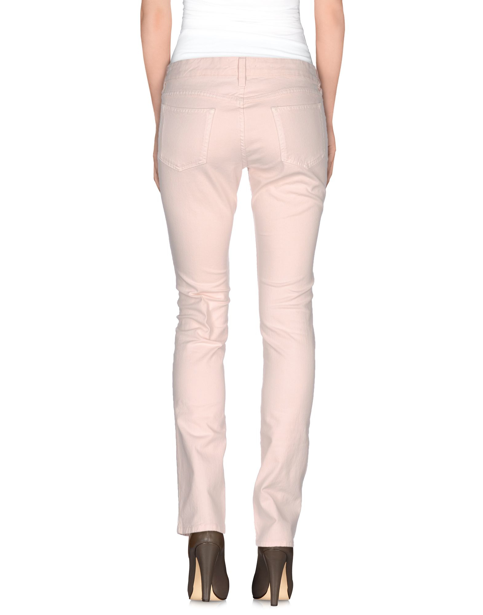 Lyst Isabel Marant Denim Trousers In Pink