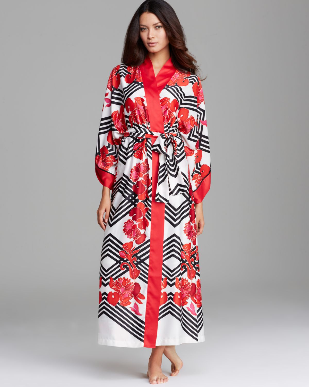 Natori Piccadilly Robe in Black - Lyst 8b2fec277