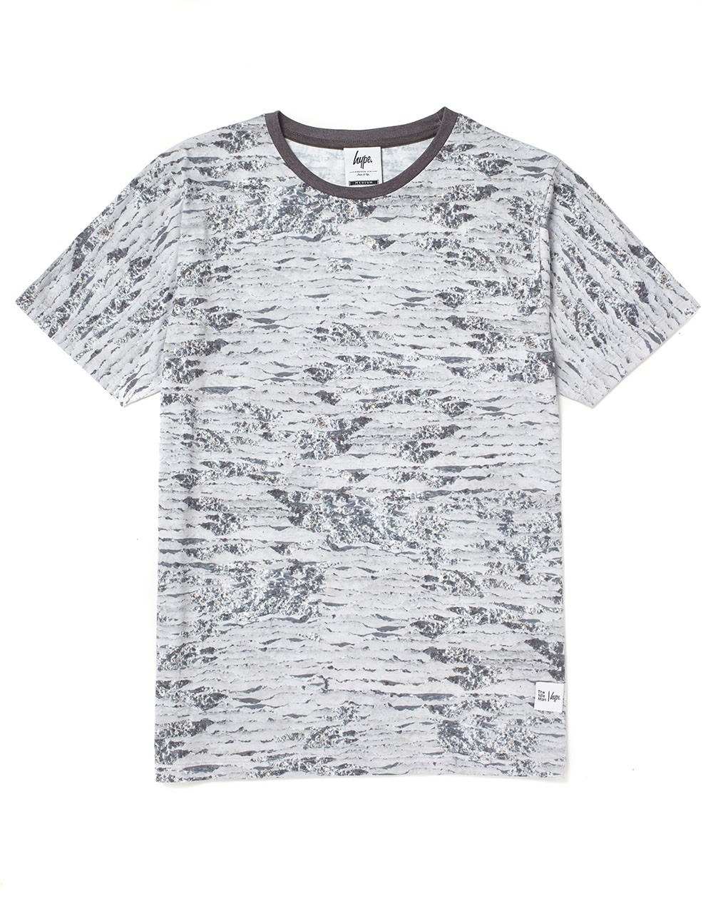 Lyst hype x the idle man moon landing all over print t for All over printing t shirts
