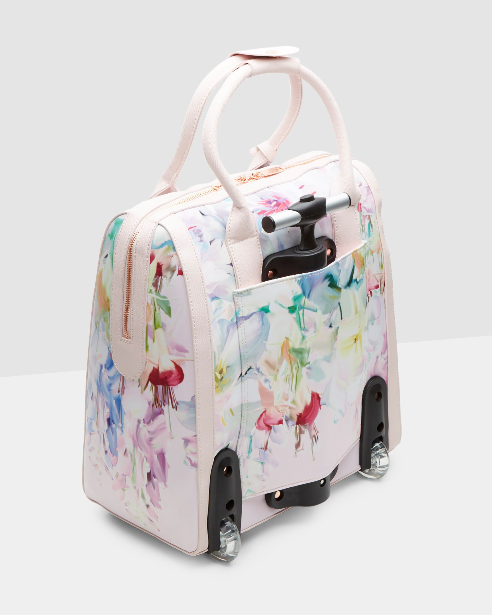 e957a9985 Ted Baker Hanging Gardens Travel Bag in Pink - Lyst