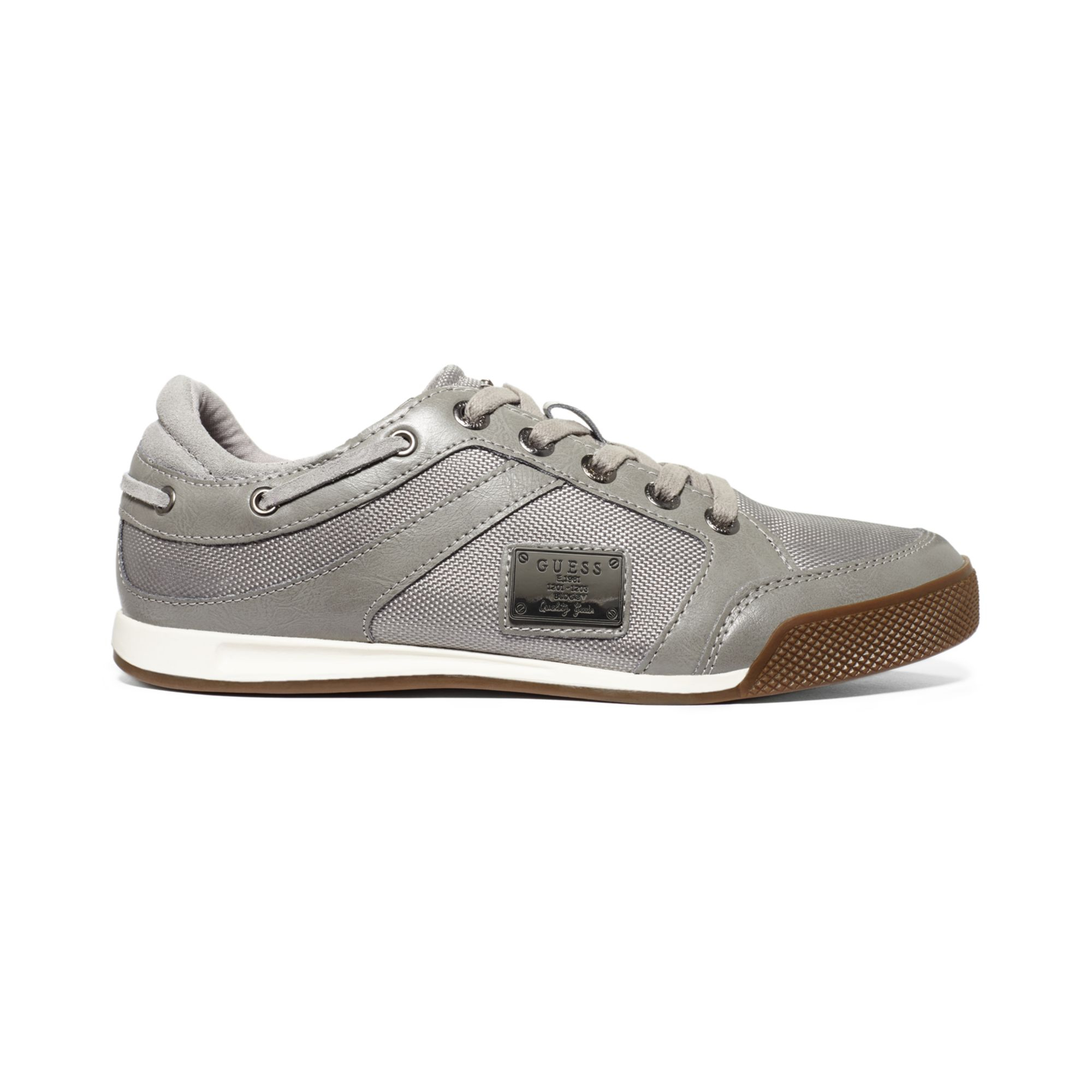Guess Leon4 Sneakers in Gray for Men (Grey) | Lyst
