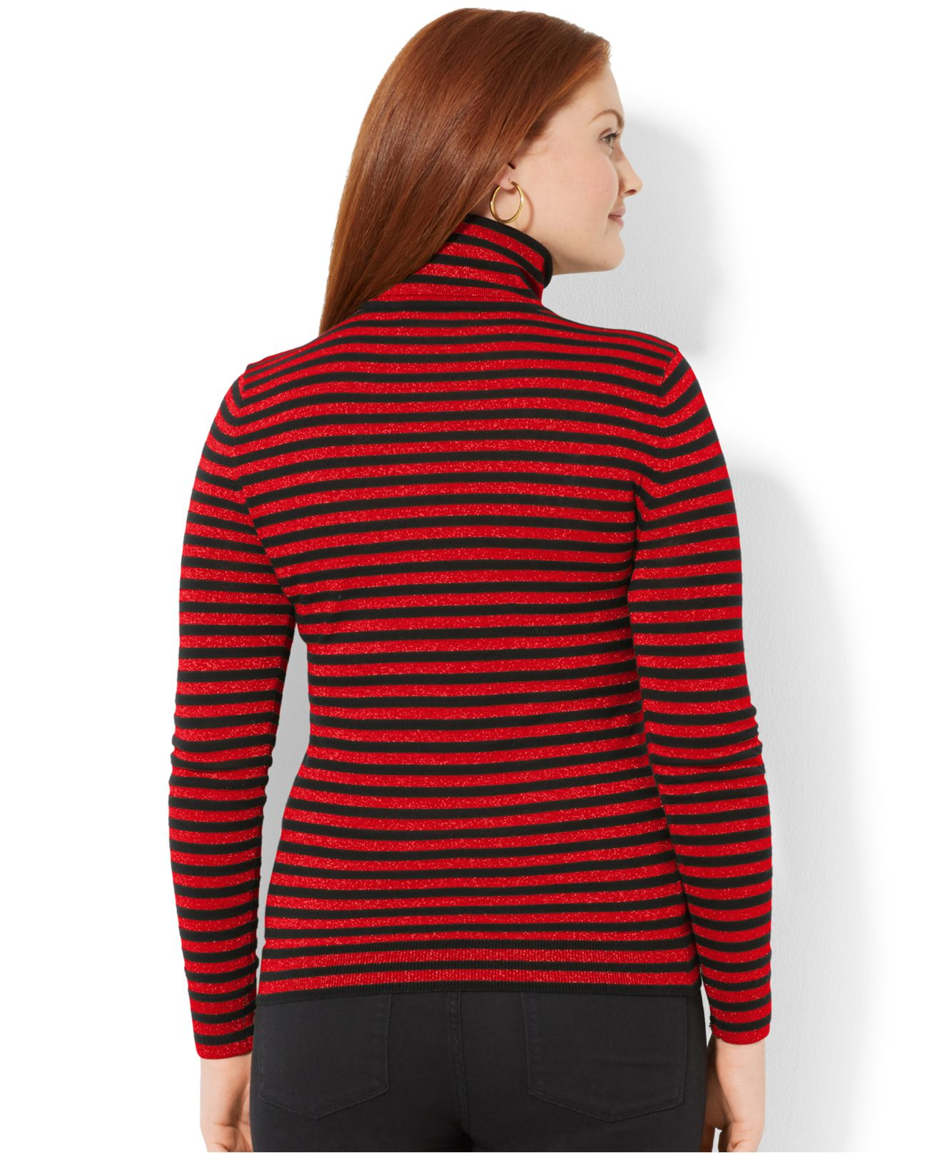 Find the latest and trendy styles of black and white striped turtleneck at ZAFUL. We are pleased you with the latest trends in high fashion black and white striped turtleneck.