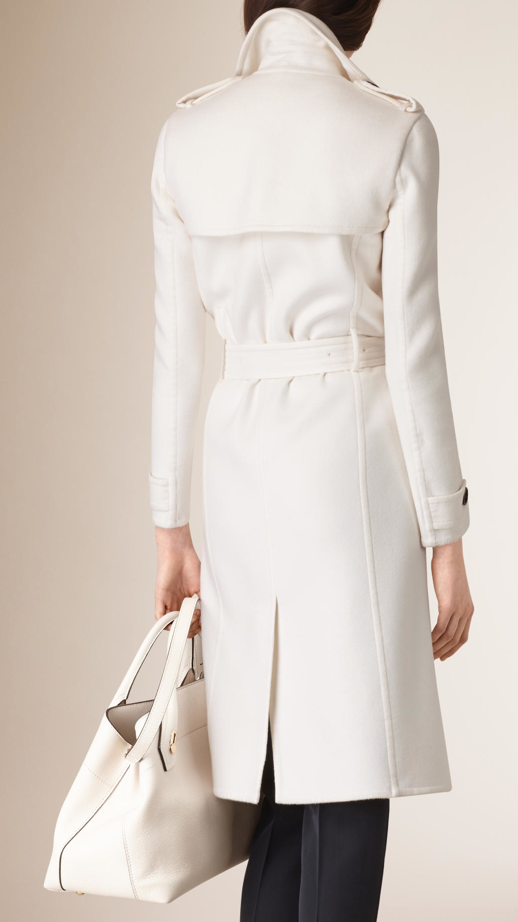 Burberry White Trench May 2017