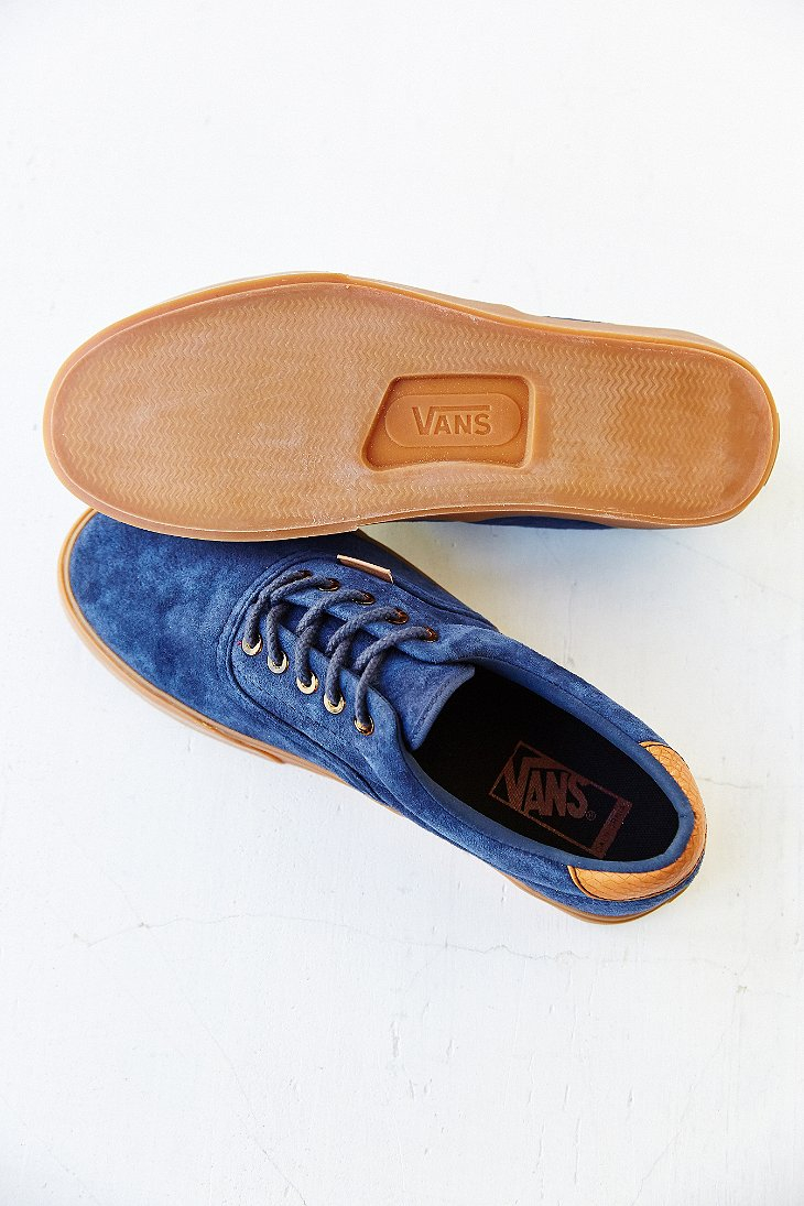 e7eaba78f5 Lyst - Vans Era 59 California Suede Gum-Sole Men S Sneaker in Blue ...
