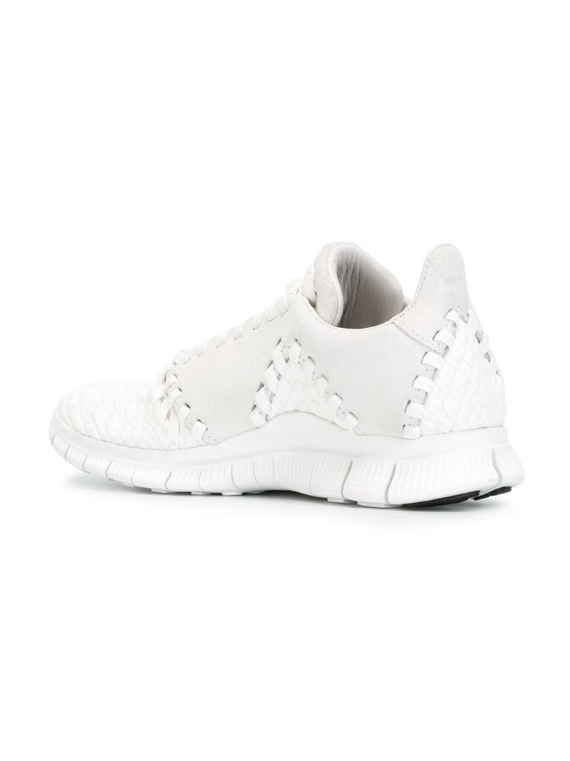 best service fd2d4 526d2 Nike  free Inneva Woven Ii Sp  Sneakers in White for Men - Lyst