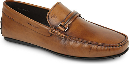 City Gommino leather loafers Tod's DuJiu