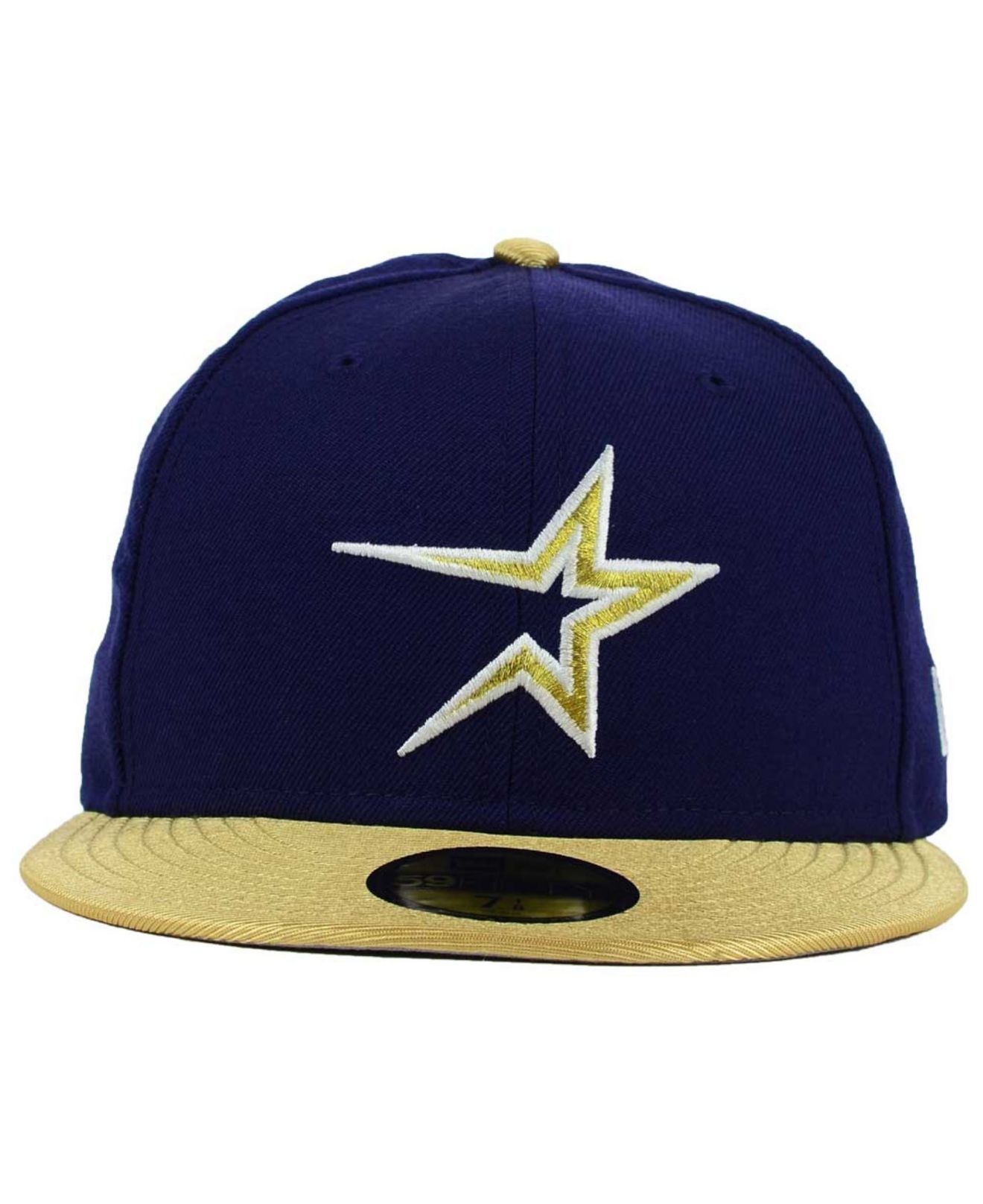 detailed look 4d996 52312 ... coupon for lyst ktz houston astros cooperstown 2 tone 59fifty cap in  blue for men ee528
