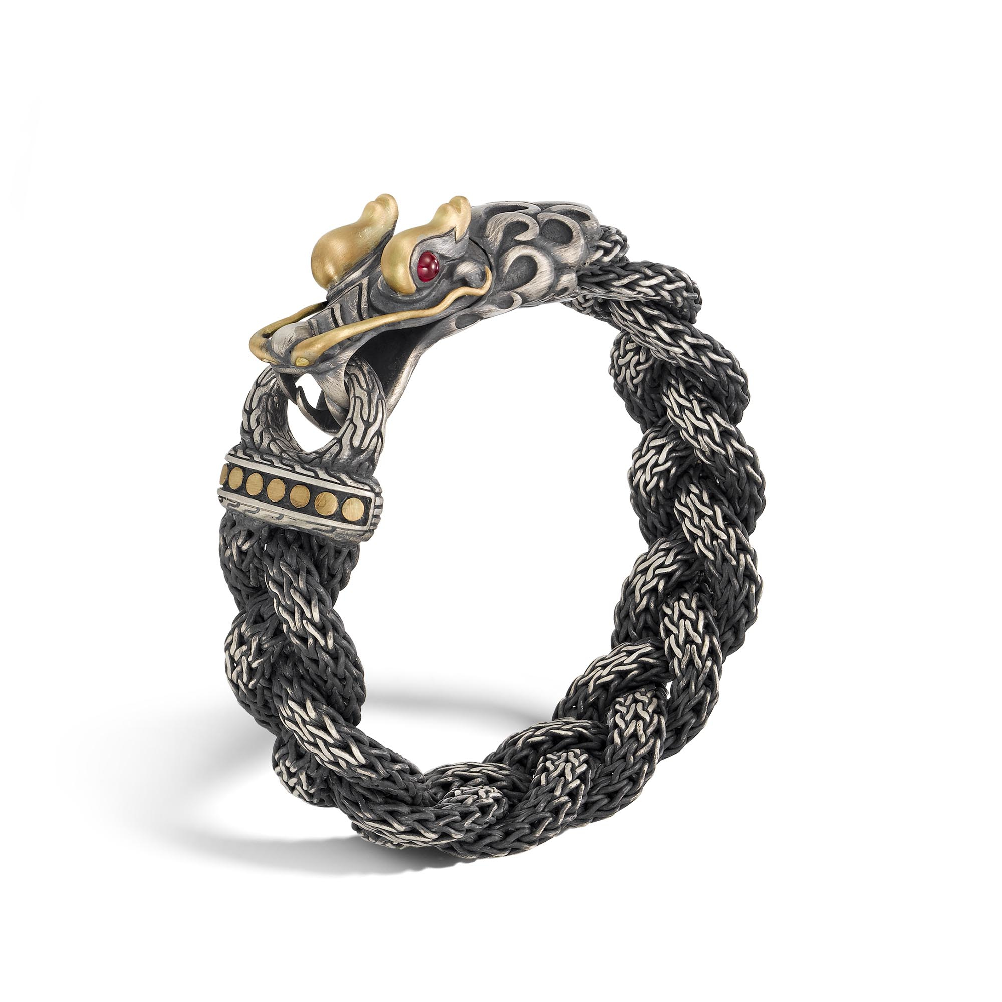 John Hardy Naga Dragon Station Chain Bracelet dqPhBP