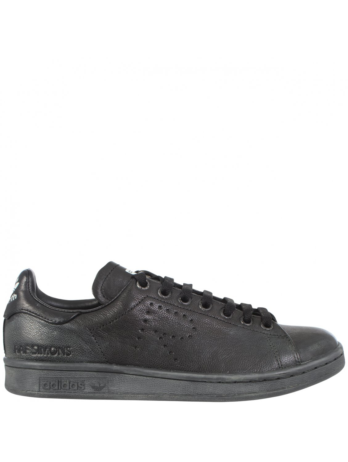 raf simons stan smith aged leather low top sneaker in. Black Bedroom Furniture Sets. Home Design Ideas