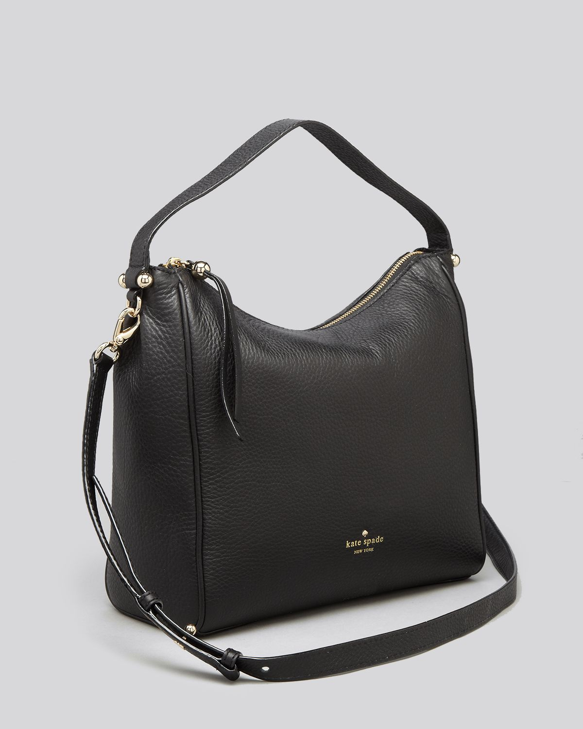 Lyst - Kate Spade Hobo - Charles Street Small Haven in Black c9dd2bcf3a665