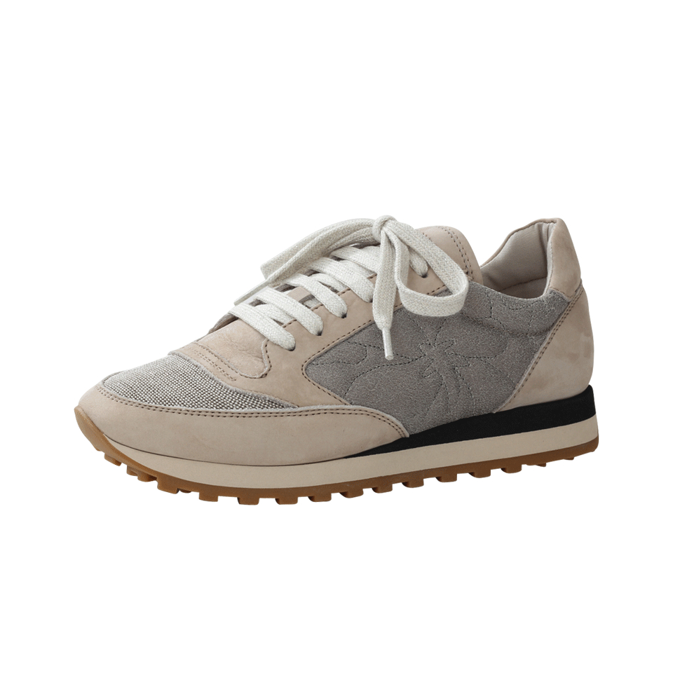 clearance wholesale price Brunello Cucinelli Monili Suede Sneakers shopping online buy authentic online outlet low cost buy cheap best store to get 0hzPT