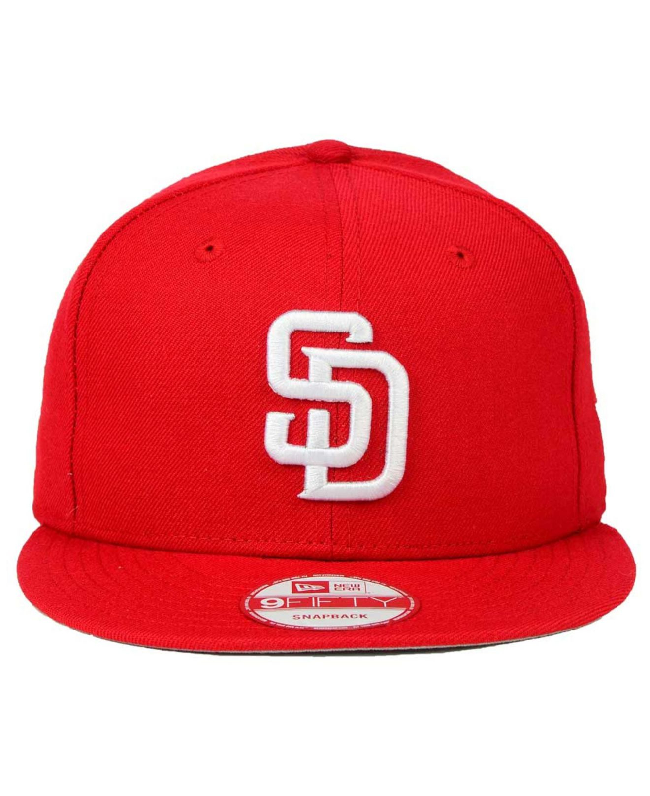 hot sale online 9def1 5390f ... mens white cincinnati reds bright heather 9fifty snapback cap dfaa4  262b3  coupon for lyst ktz san diego padres c dub 9fifty snapback cap in red  4ab27 ...