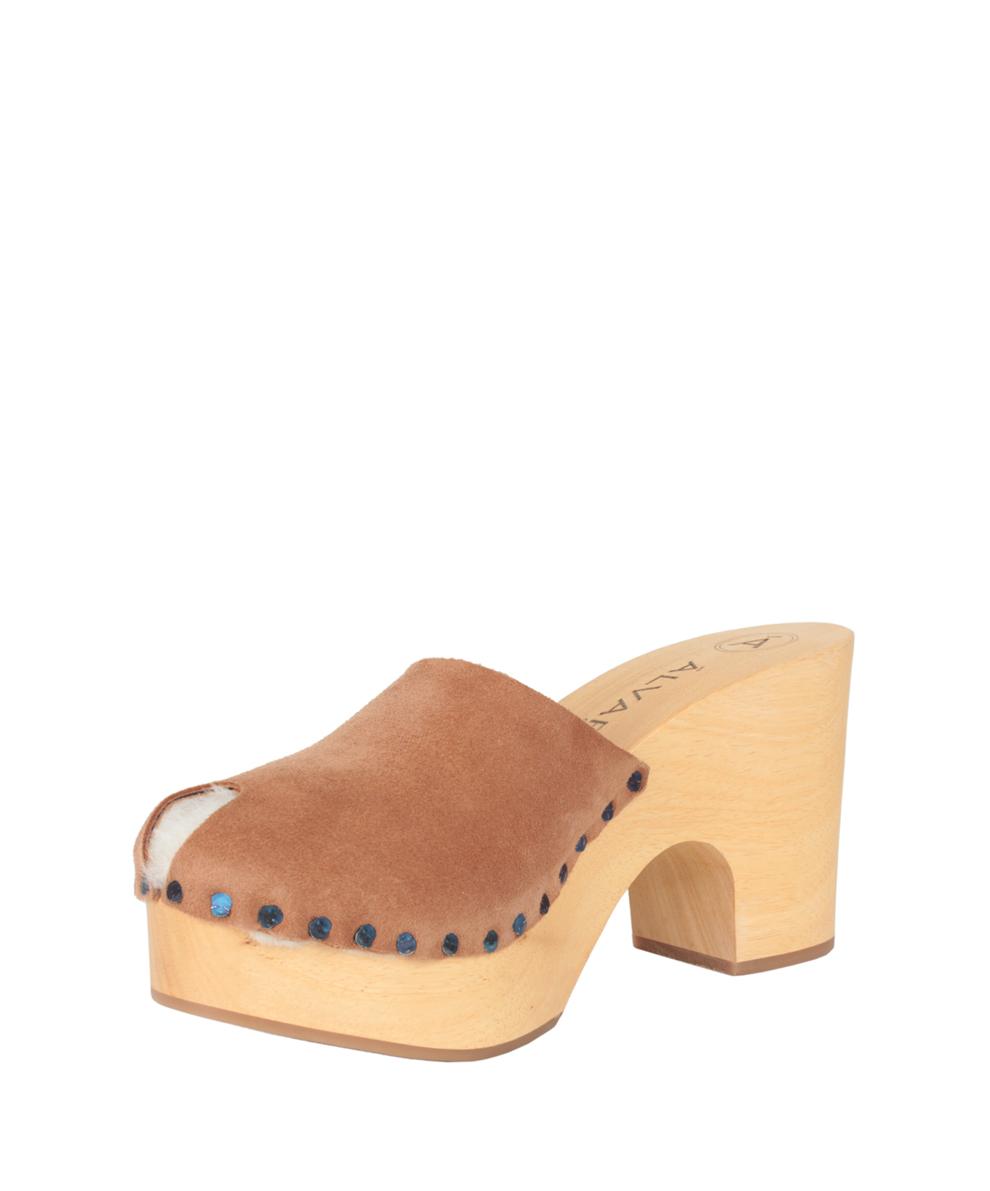 Shearling block-heel boots DxCpD