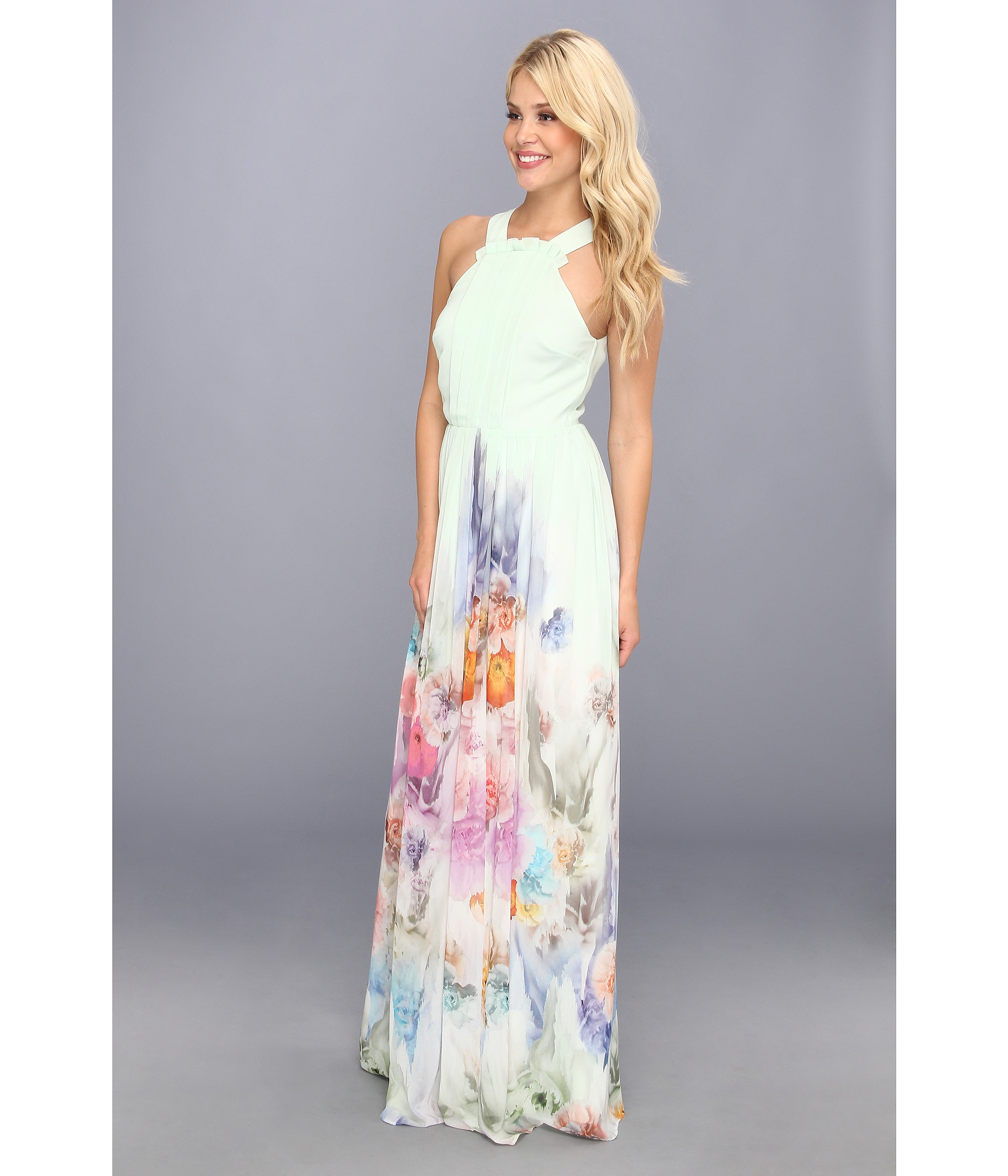 6a23f2b26372 Lyst - Ted Baker Beula Sugar Sweet Floral Maxi Dress