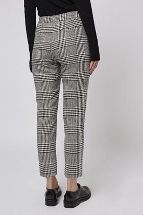 Warehouse Checked Cigarette Trouser