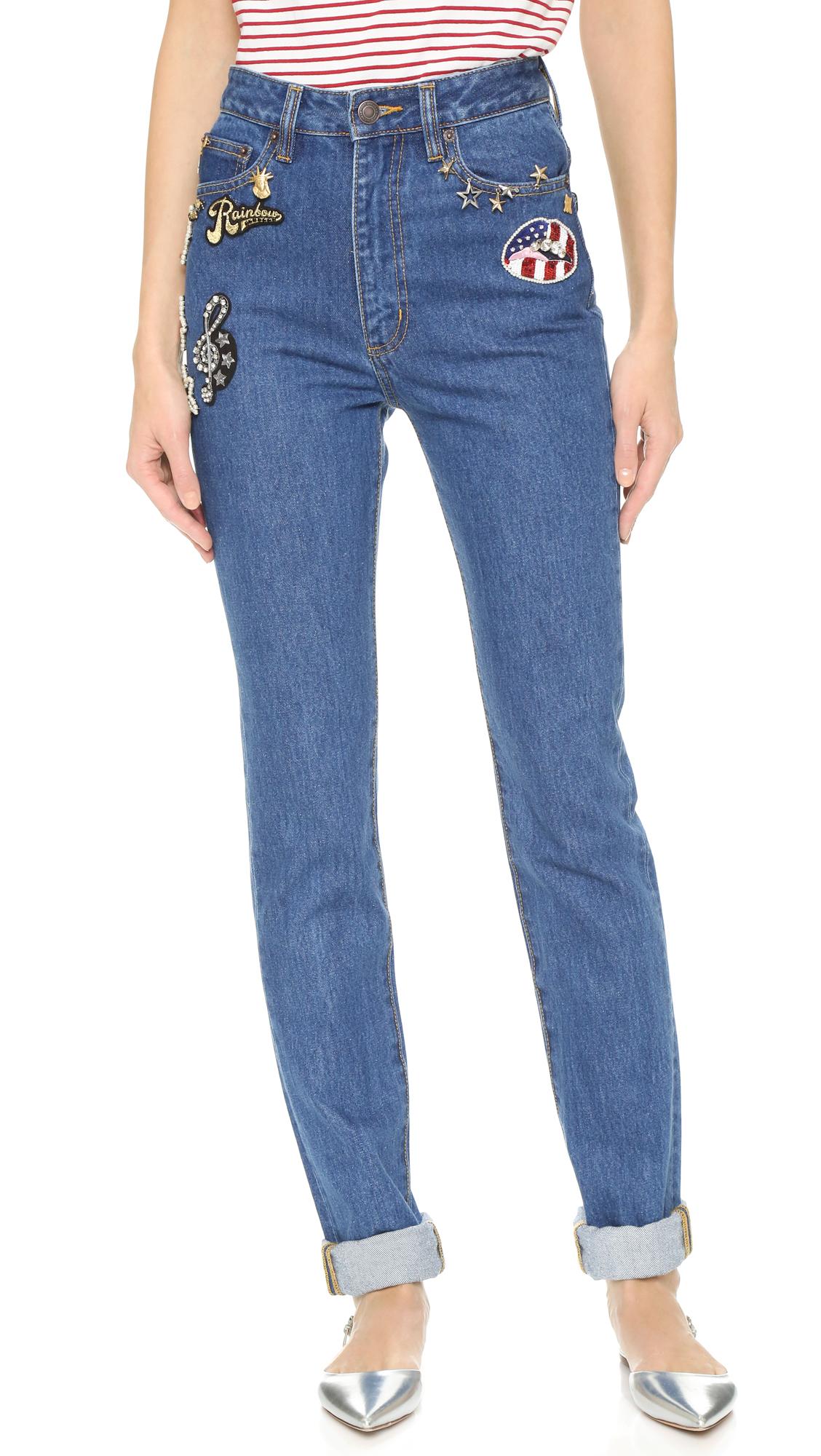 high waist jeans - Blue Marc Jacobs U72riONil