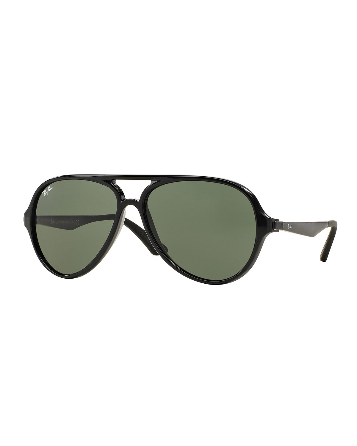 Lyst - Ray-Ban Plastic Aviator Sunglasses in Black for Men