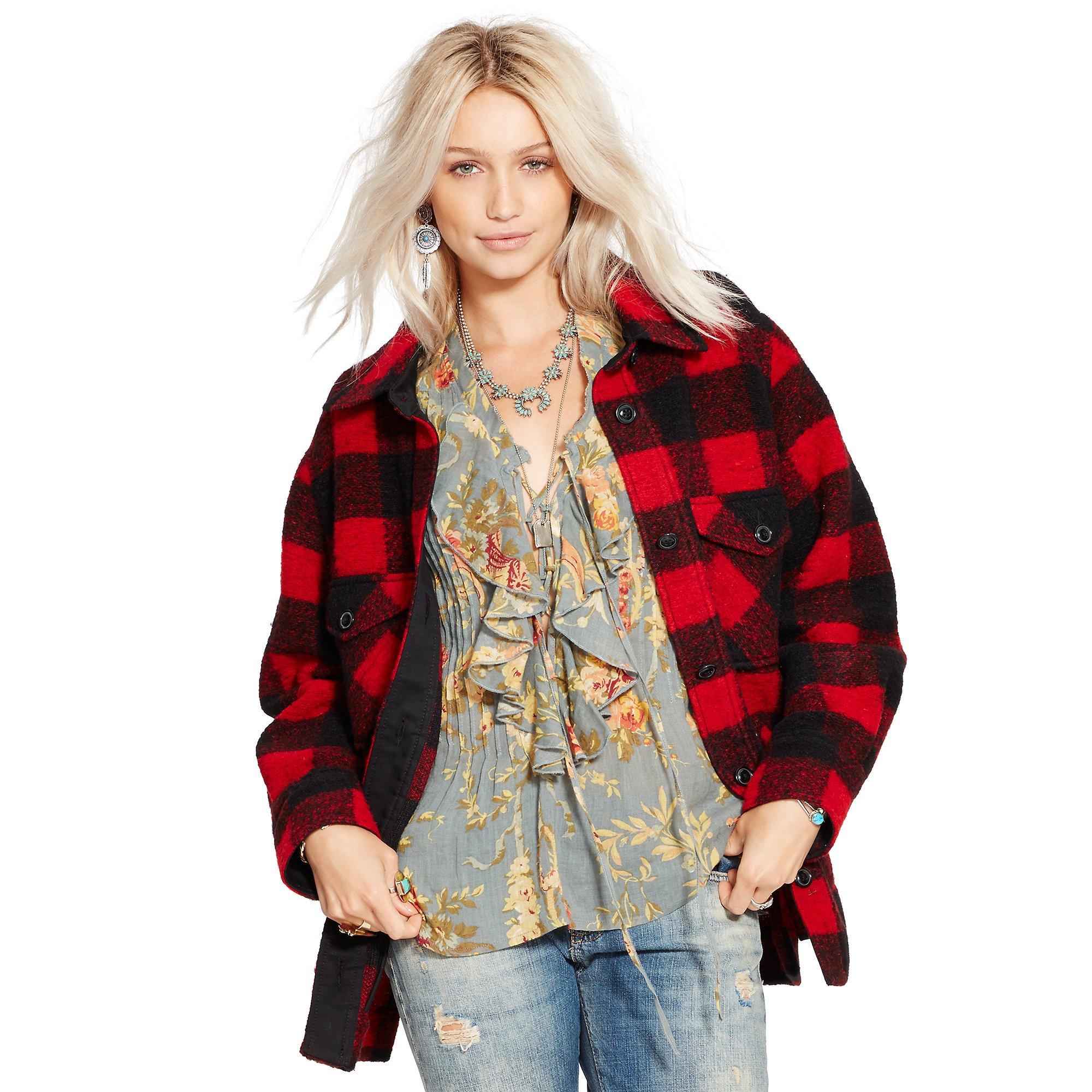 Denim & supply ralph lauren Buffalo Plaid Hunting Jacket ...