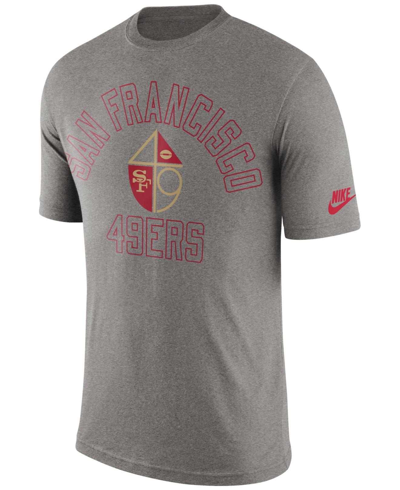 Men S San Francisco 49ers 47 Brand Gray Tri State Tri