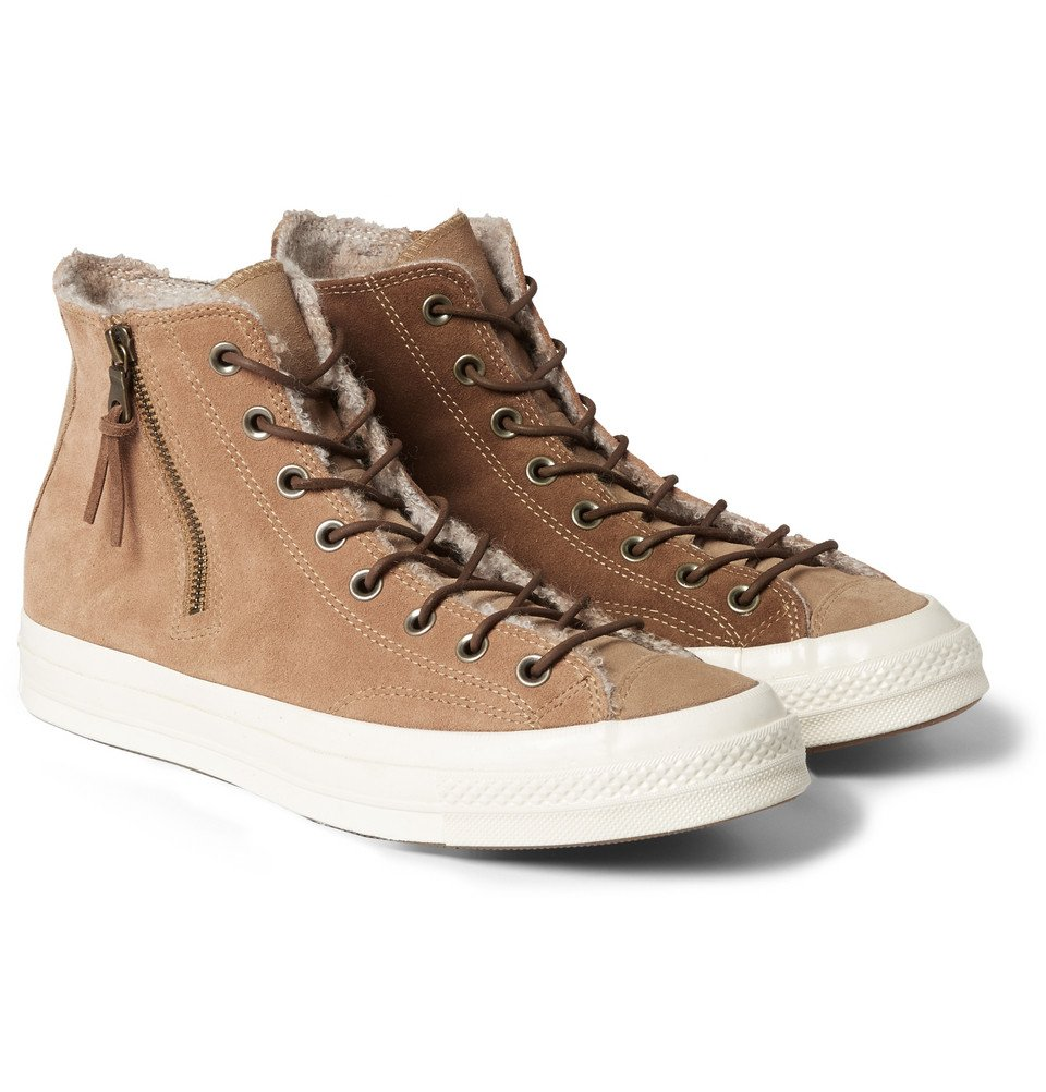 Levi High Top Suede Shoes
