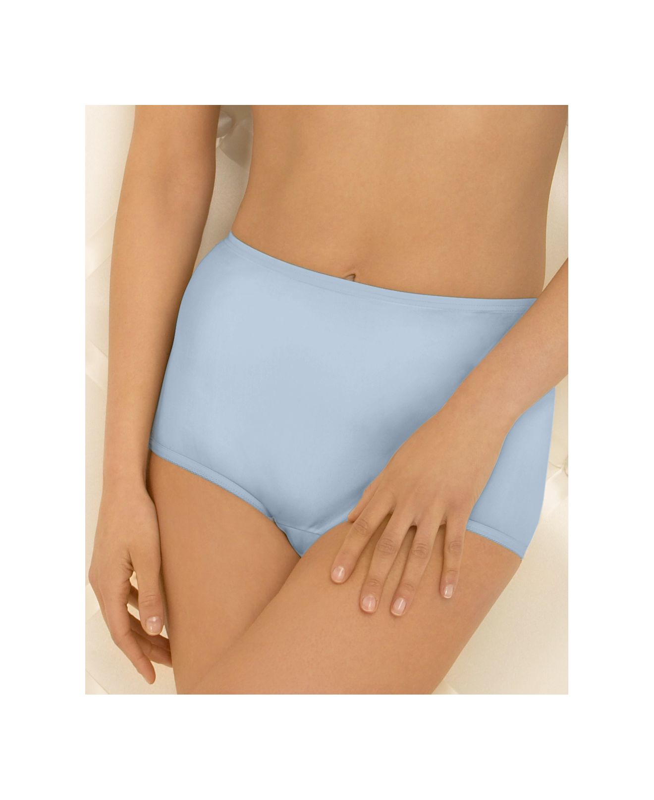Vanity fair Perfectly Yours Ravissant Nylon Brief in Blue