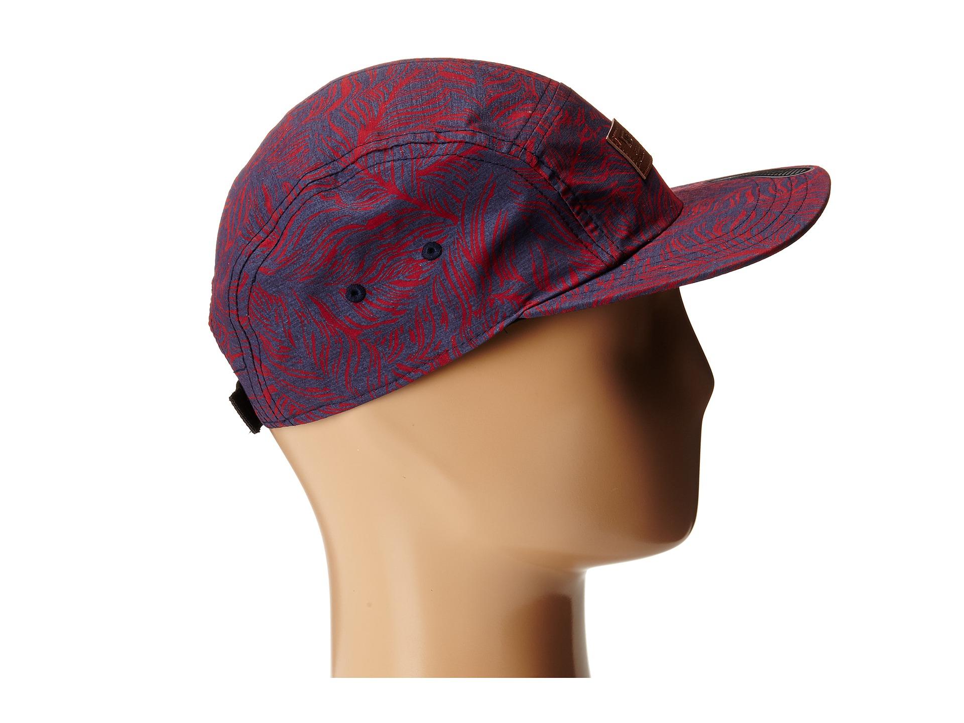 b26366a5b11 Lyst - Vans Davis 5 Panel Camper Hat in Red for Men