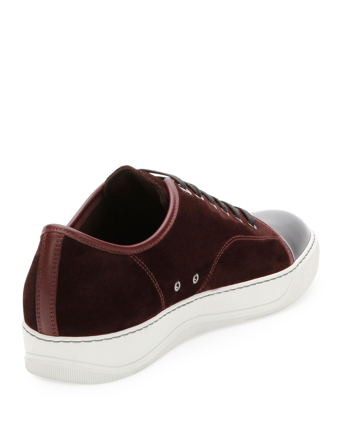 Am Shoe Company Suede Burgundy