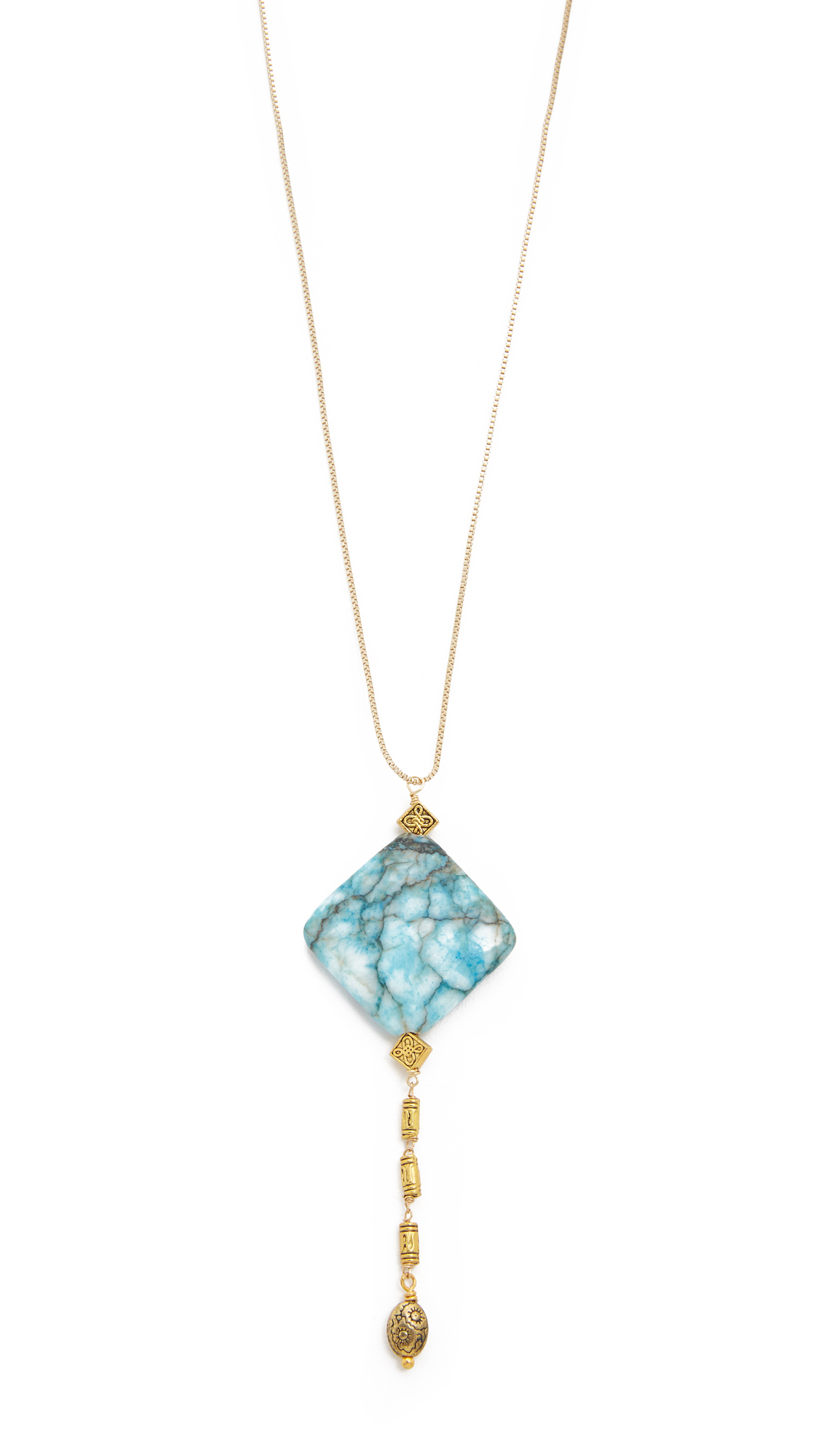 Vanessa Mooney Kismet Necklace in Metallic Gold f5Dh3