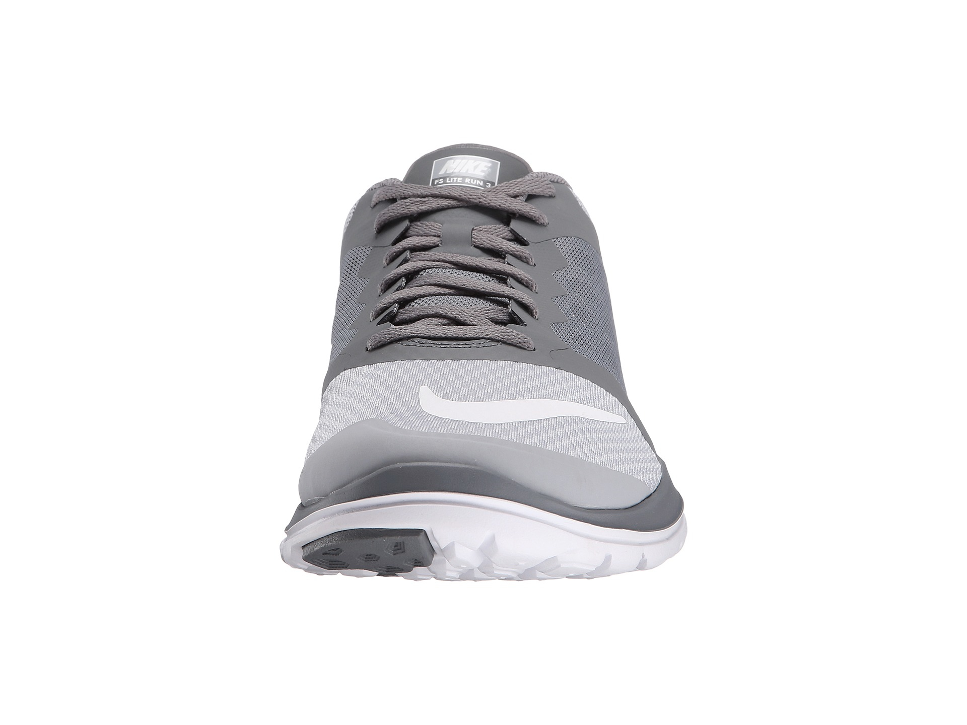 Nike FS Lite Run 3 Running Shoe Grey/ Blue / Orange