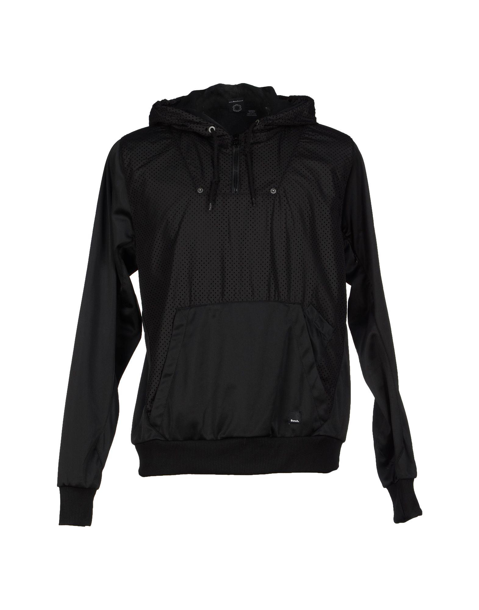 Bench Sweatshirt In Black For Men Lyst