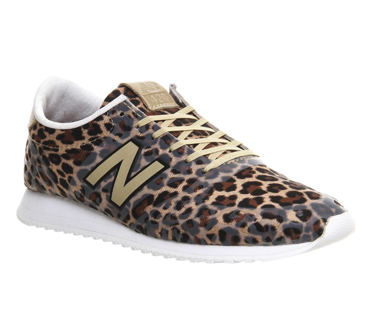 new balance leopard noir