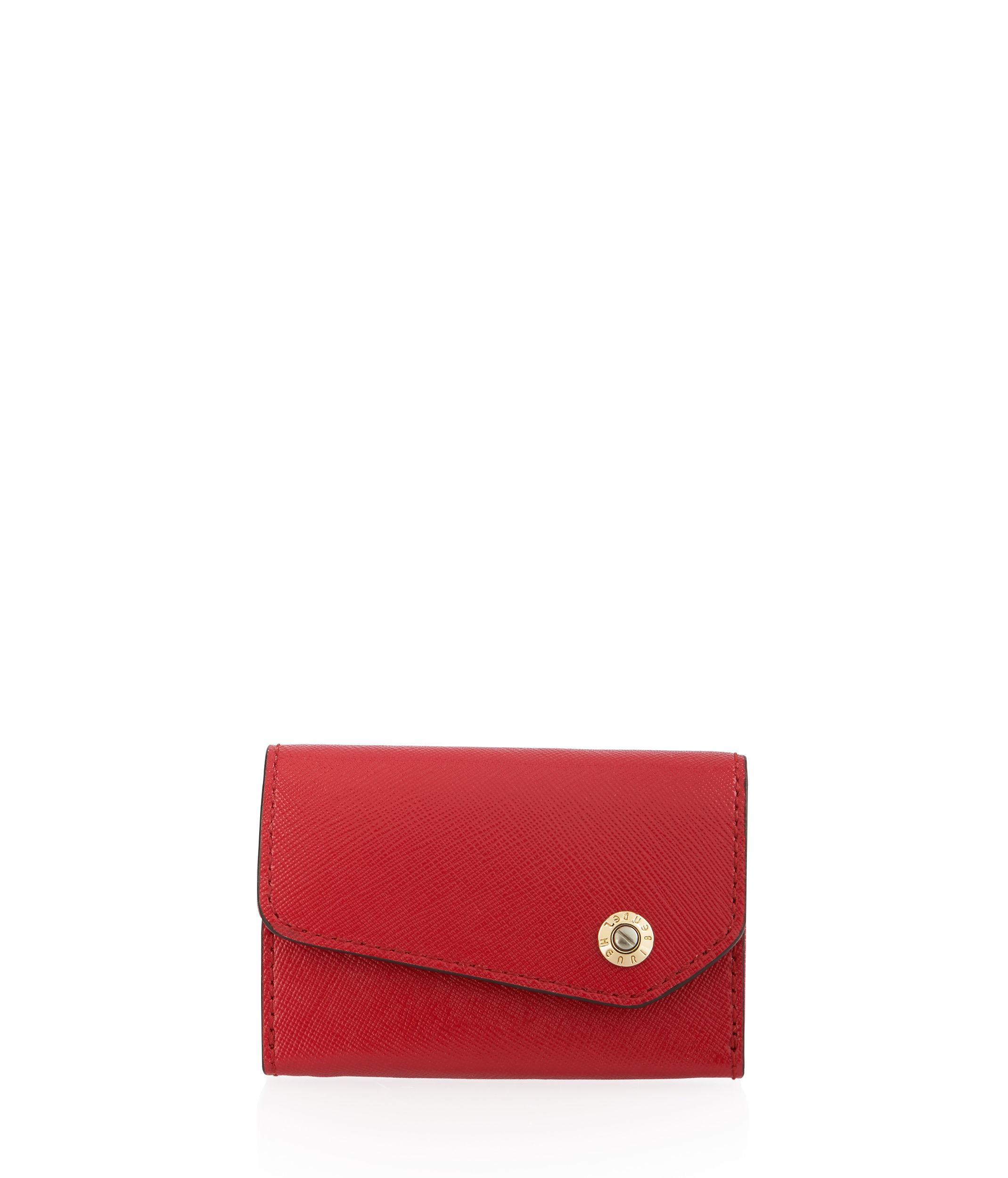 Lyst - Henri Bendel Mind Your Business Card Case in Red