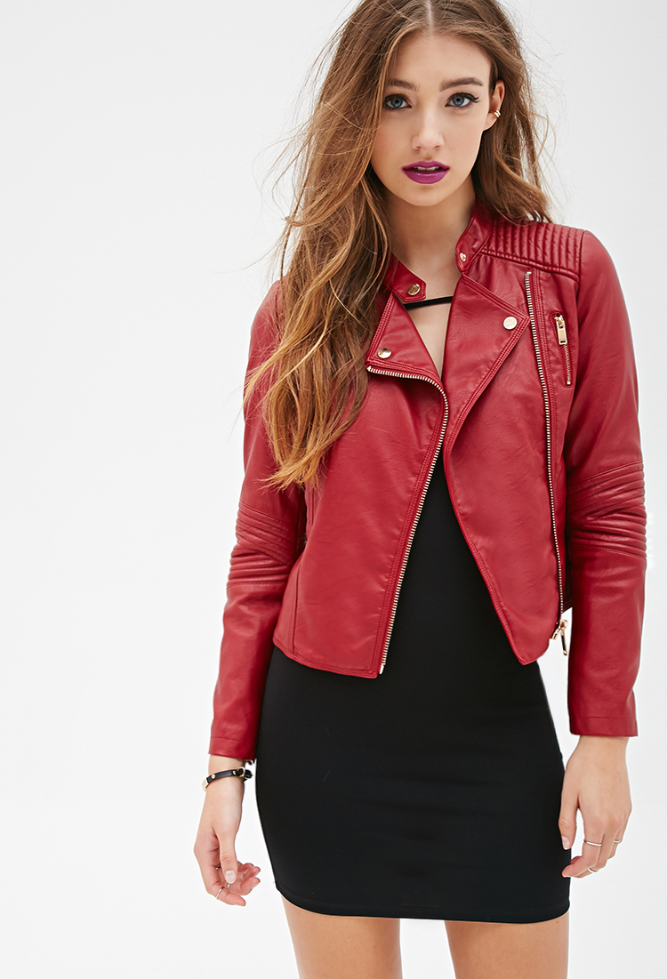 Product Features Stylish faux leather jacket with good quality, suit for daily Shop Best Sellers · Deals of the Day · Fast Shipping · Read Ratings & Reviews.