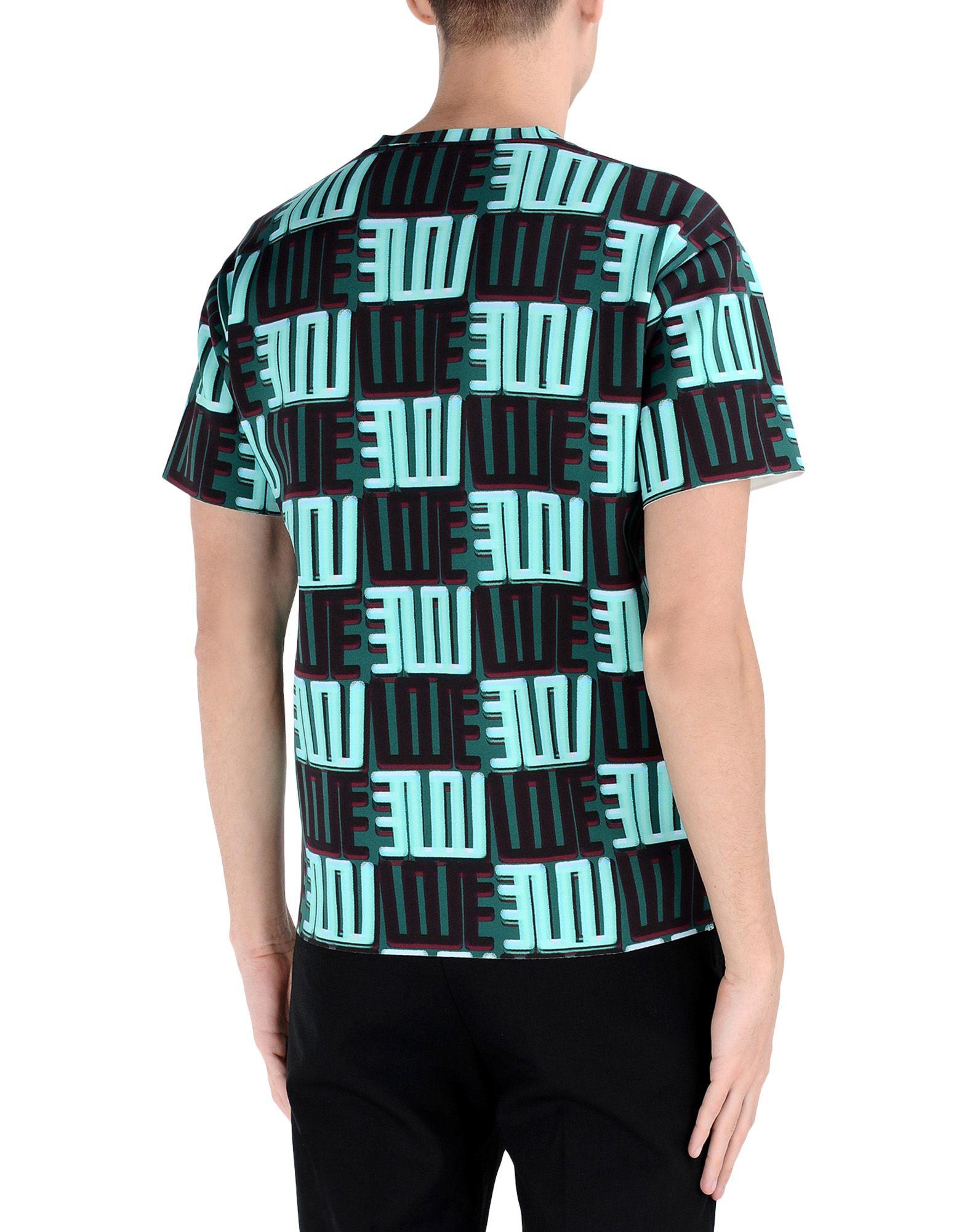 kenzo short sleeve t shirt in green for men lyst. Black Bedroom Furniture Sets. Home Design Ideas