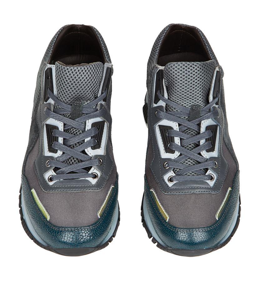 Lanvin Chaussures De Course - Gris fhdpWTNG6