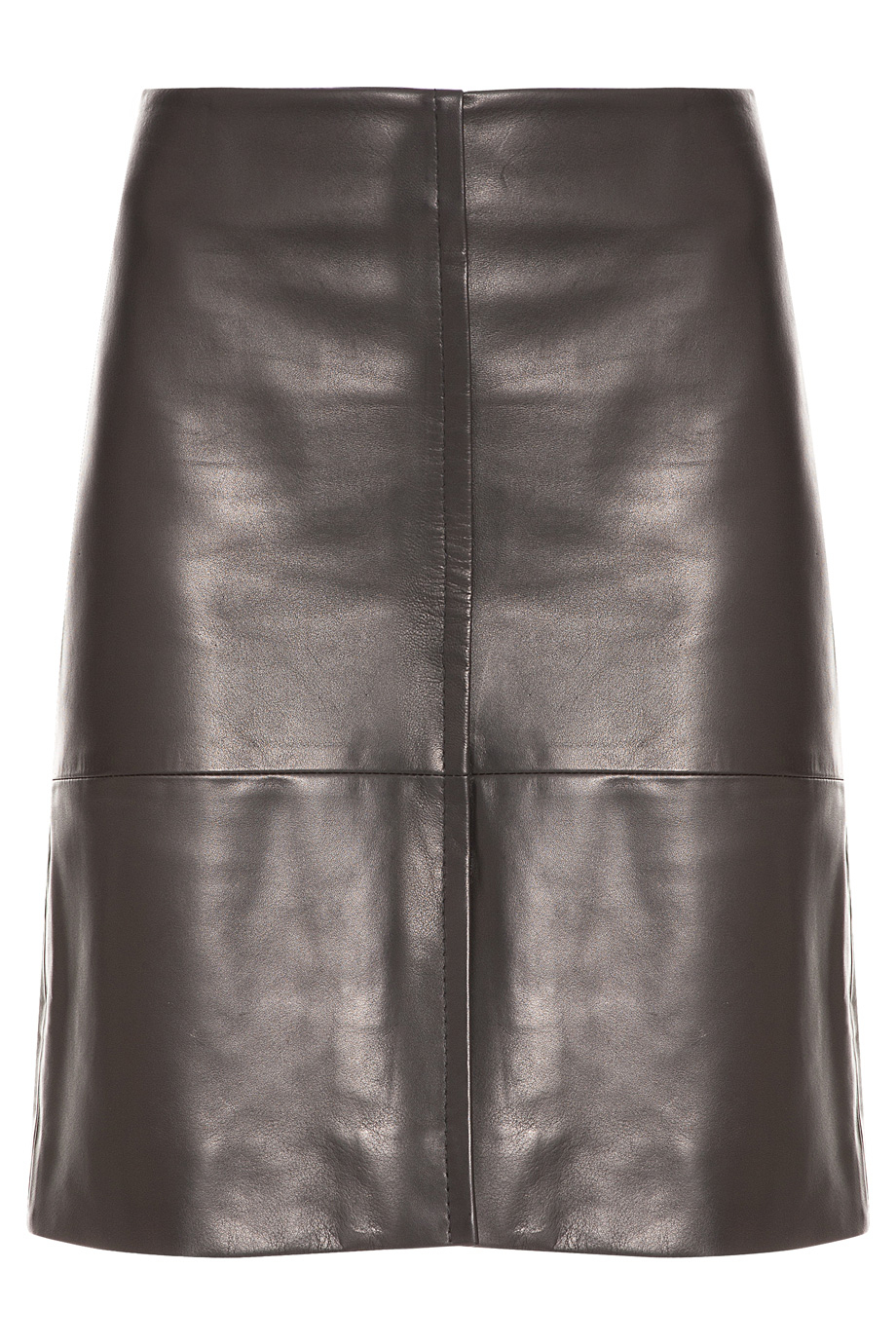 the row curlan leather skirt in black lyst