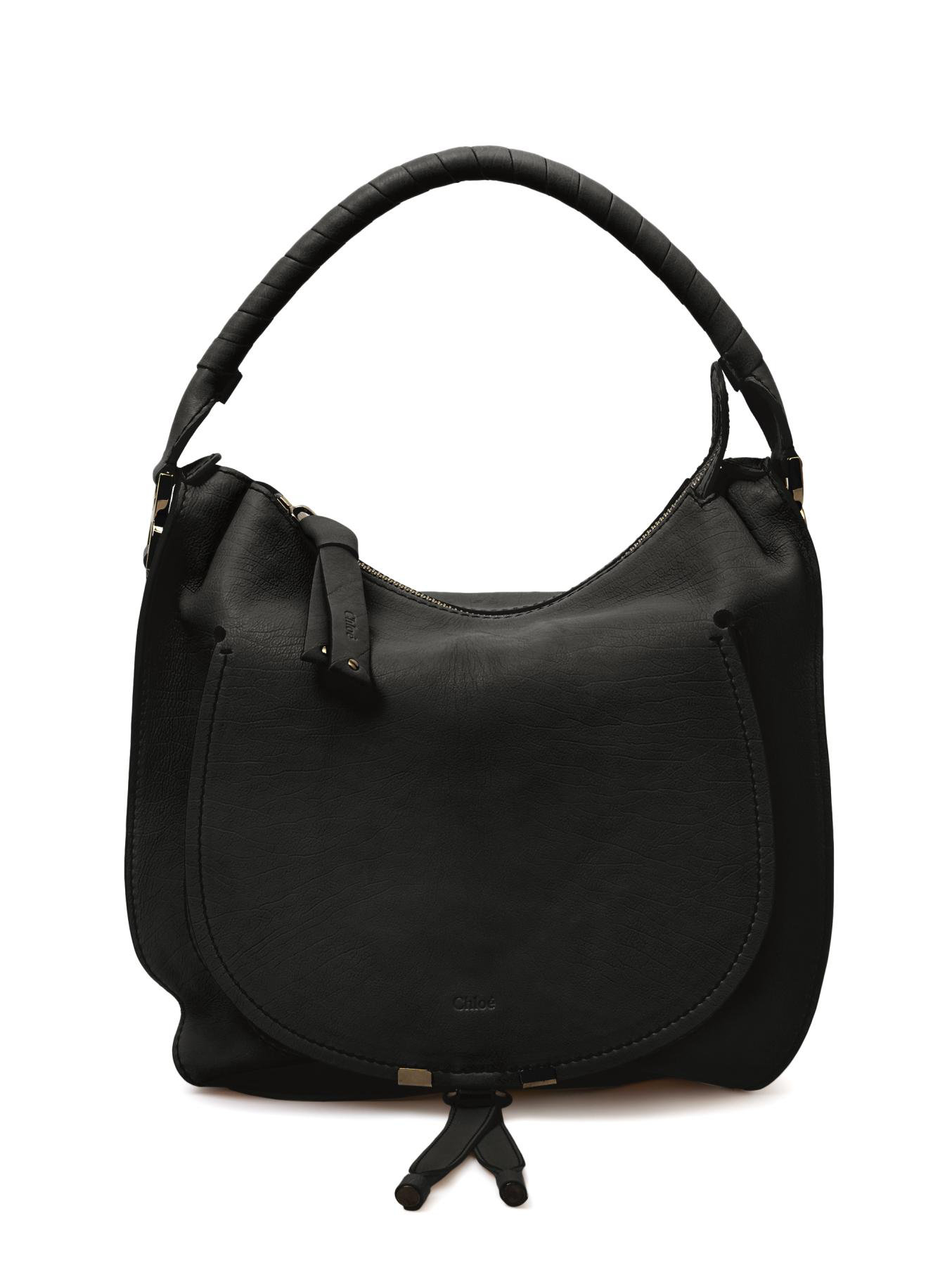Chlo¨¦ Pure Marcie Hobo Bag in Black | Lyst