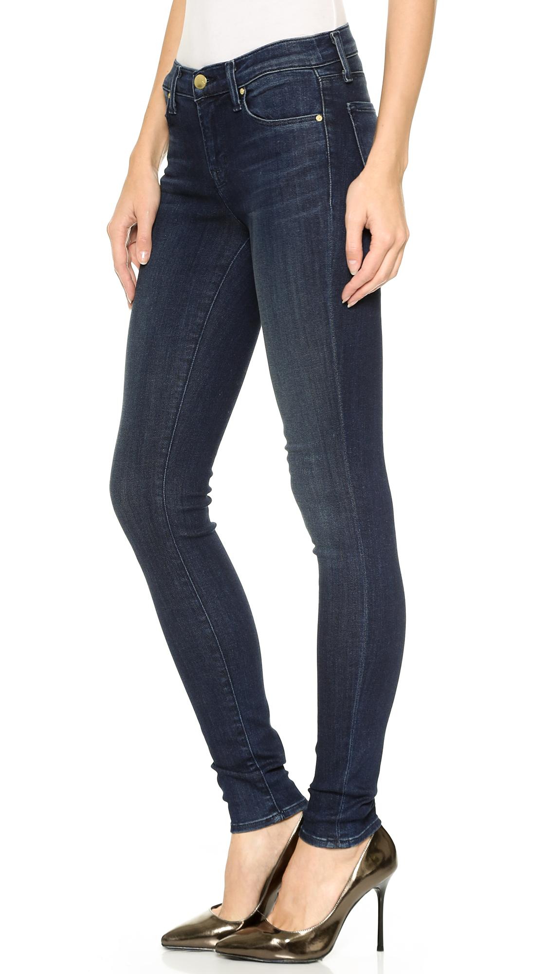 46bd3ad3248e J Brand 620 Mid Rise Super Skinny Jeans - Fix in Blue - Lyst