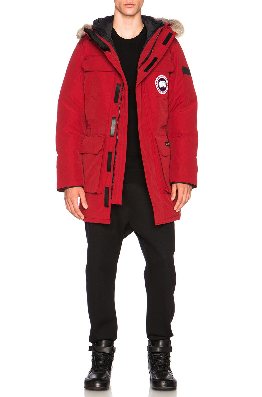 Canada Goose langford parka outlet store - Canada goose Men'S Citadel Parka in Red for Men (Redwood) | Lyst