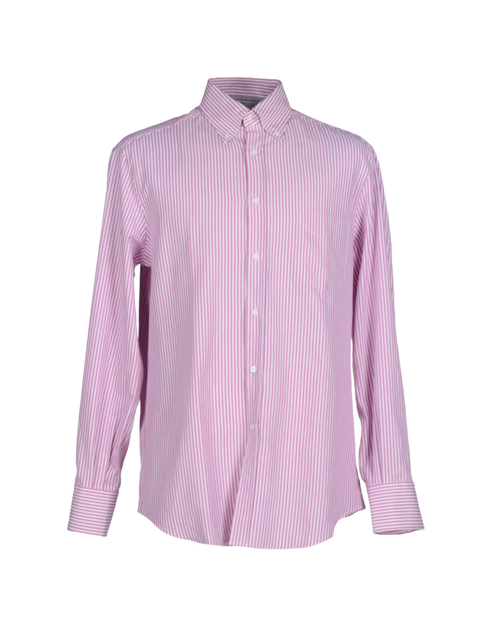 Brunello Cucinell Shirt In Purple For Men Light Purple