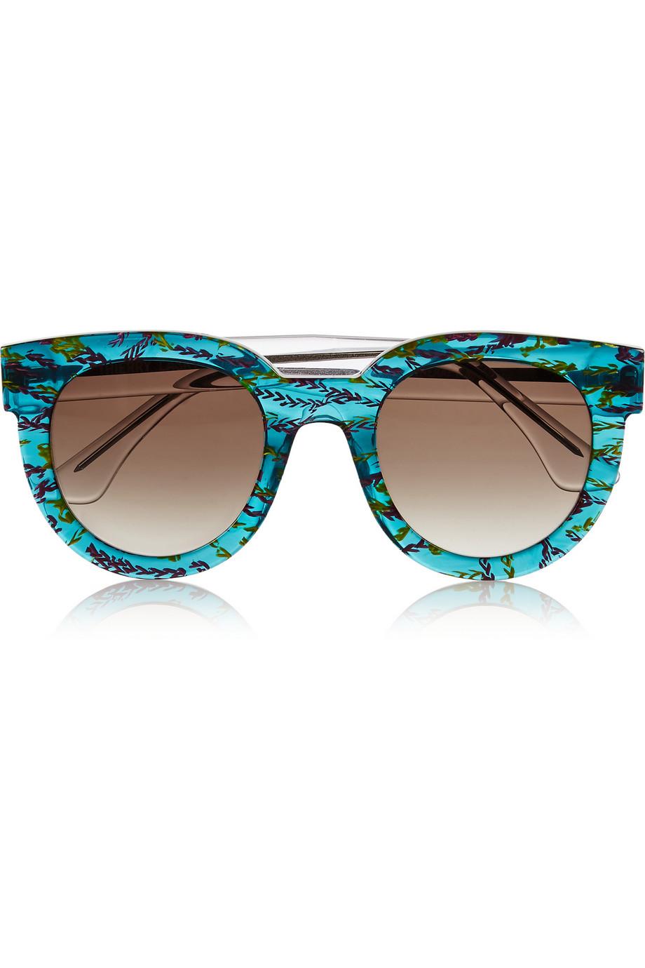 ray ban 2117  ban round glamour sunglasses