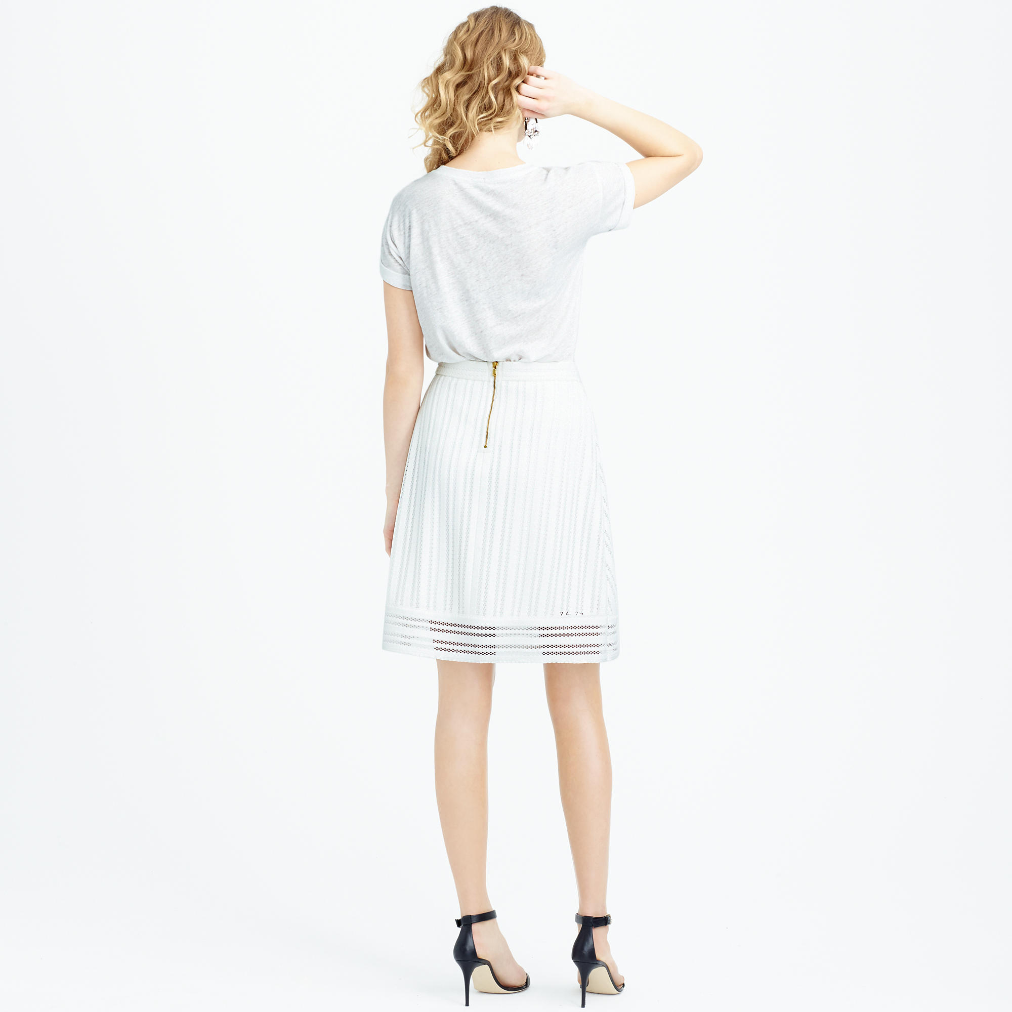 7727ac74e08 Gallery. Women s Peplum Skirts Women s Eyelet ...