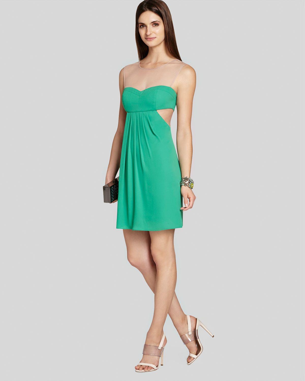 Bcbgmaxazria Stelah Draped Sheath Dress: Bcbgmaxazria Bcbg Max Azria Dress Sleeveless