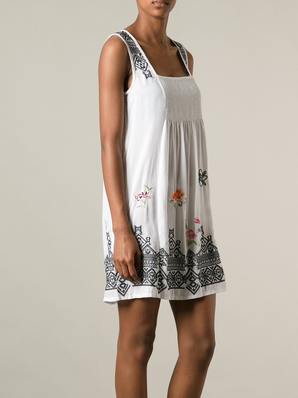 Lyst Odd Molly Myway Sleeveless Dress In White